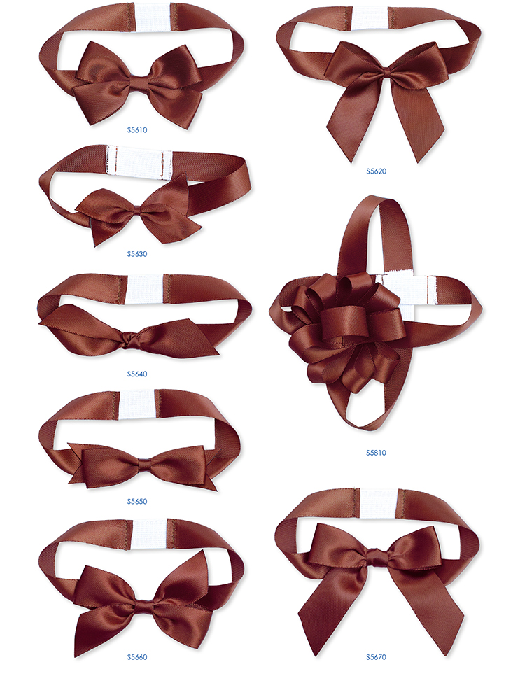 customized packing bows