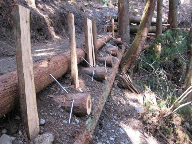 森林作業道#11( 3連続丸太組工の奥 ) | やまさ育林