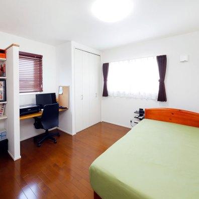 ゆっくりと休める寝室|建築実例1609-05