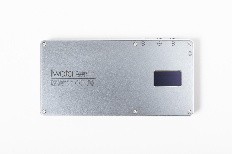 IWATA Genius Lightの裏側