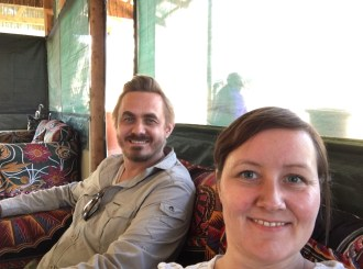 Vi er ankommet Ngorongoro Wildcamp