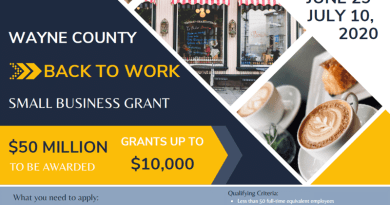 New small business-grant program from Wayne County