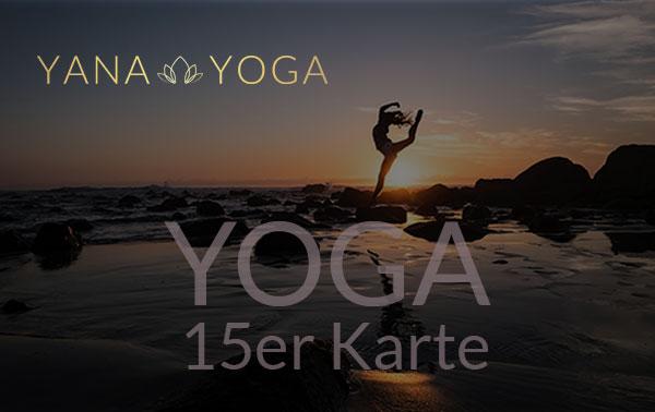 Yana Yoga Loft Limburg 15er Karte Yoga