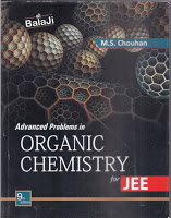 M.S CHAUHAN ORGANIC CHEMISTRY FOR JEE ~ BEST IITJEE PREPARATION BOOKS