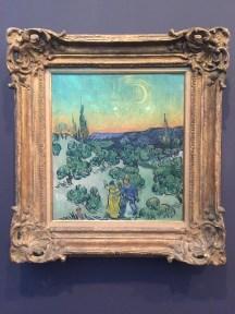"Vincent Van Gogh, ""Promenade in the Sunset"", 1889/90"