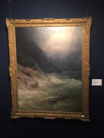 Ivan Aivazovsky, The Survivor, 1892