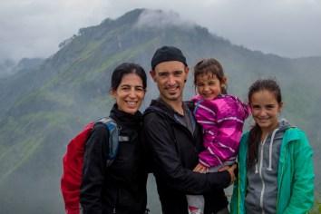 Au sommet du Little Adams Peak