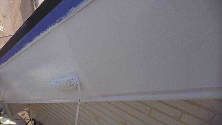破風板(鼻隠し)の塗装
