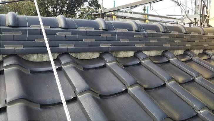 船橋市の屋根修理の施工前の様子