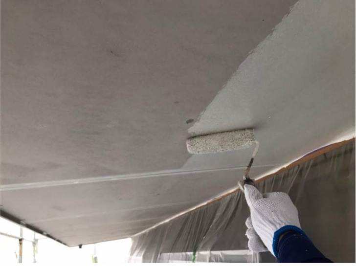 軒天井の塗装