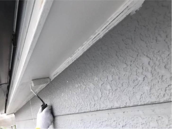 品川区の外壁塗装の付帯部の塗装