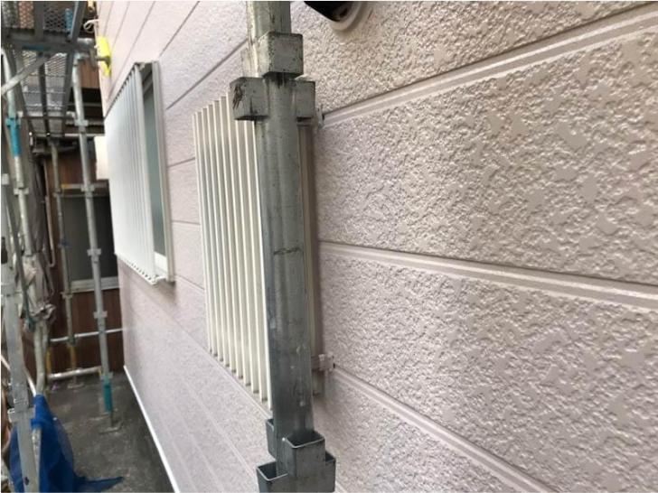 品川区の外壁塗装の施工後の様子