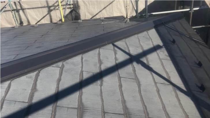 練馬区の屋根葺き替え工事の施工前の様子