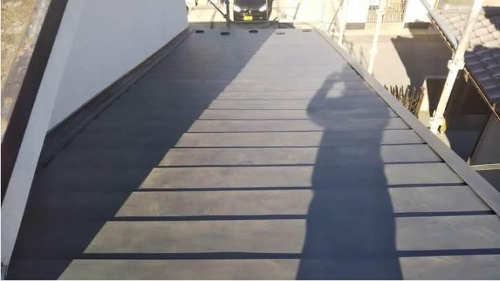 千葉市の屋根リフォームの施工後の様子