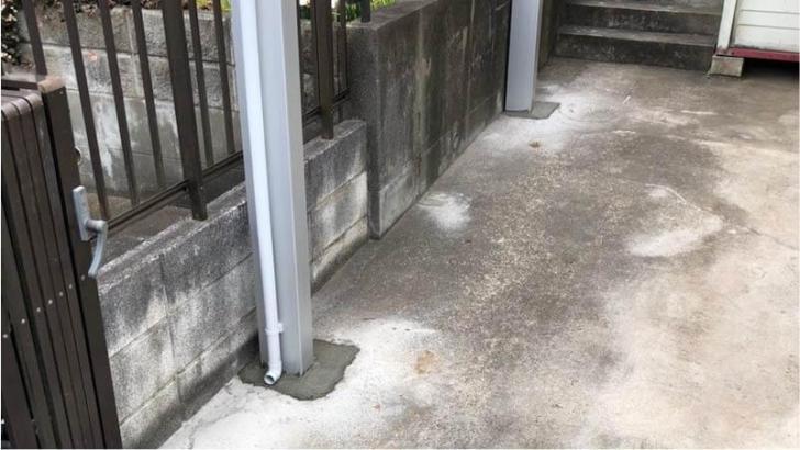 四街道市のカーポートの設置