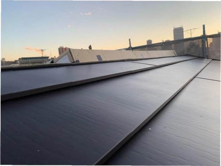 豊島区の屋根リフォームの屋根材の設置