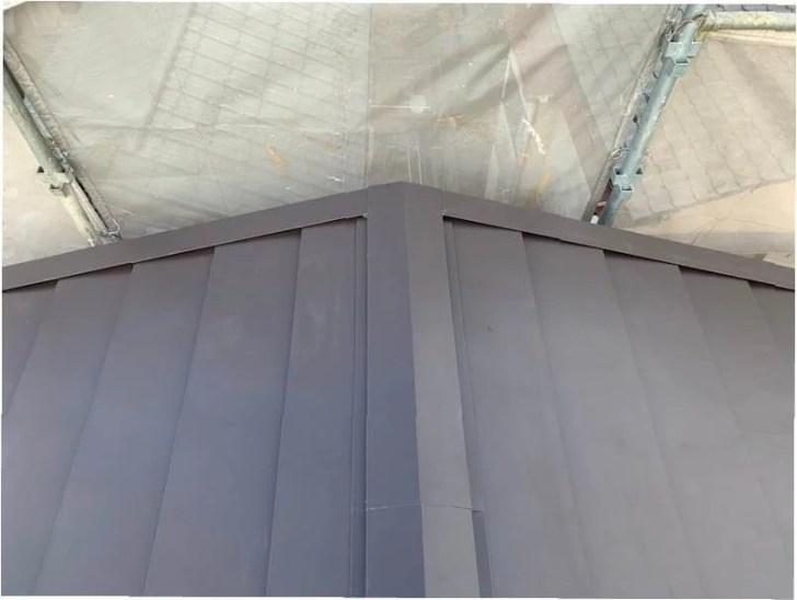 豊島区の屋根リフォームの施工後の様子