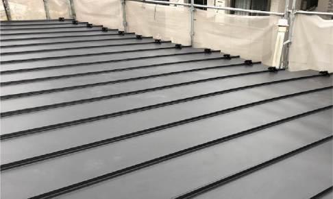 川崎市の屋根葺き替え工事の施工事例