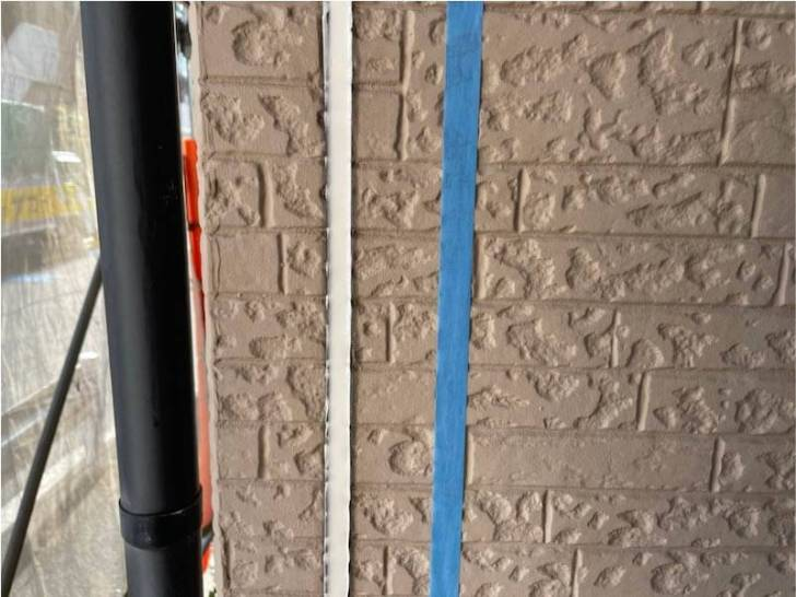 江東区の外壁塗装のコーキングの交換