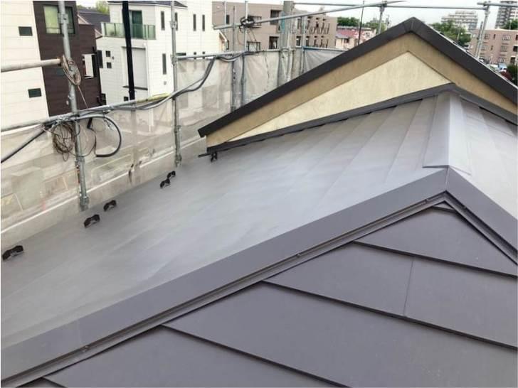 練馬区の屋根リフォームの施工後の様子