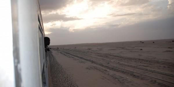 Tren a Zuerat (Mauritania) Yanet Acosta