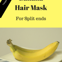 DIY Banana Honey Mask For Dry Frizzy Hair