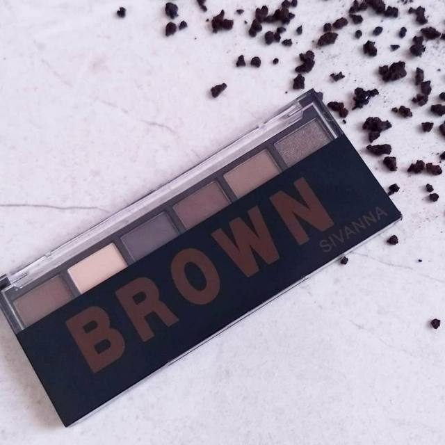 Sivanna brown eyeshadow palette