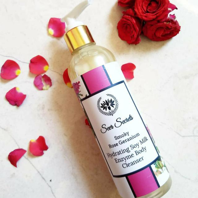 Seer Secrets Smoky Rose Geranium Body Cleanser