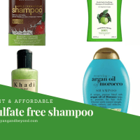 Best and affordable sulfate free shampoos available in India