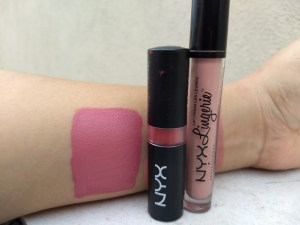 NYX lingerie Liquid Lipstick review