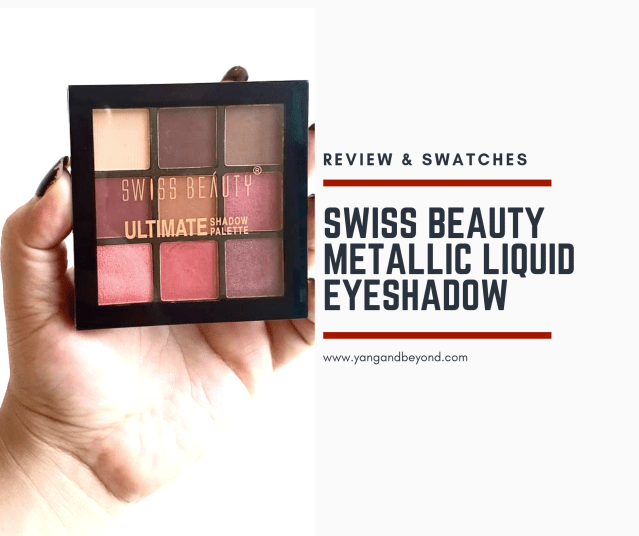 Swiss beauty ultimate shadow palette review