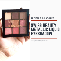 Swiss beauty ultimate shadow palette review & swatches