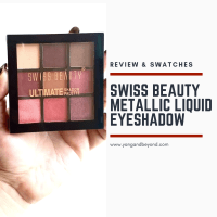 Swiss beauty eyeshadow palette 01 review