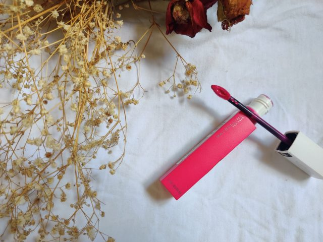 Maybelline superstay matte ink romantic review