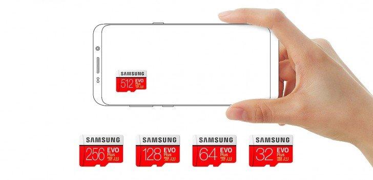 Samsung Luncurkan EVO Plus MicroSD Berkapasitas 512 GB