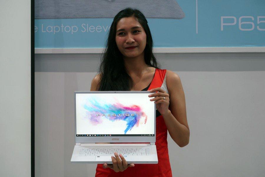 MSI Pamerkan 4 Notebook Terbaru di Indocomtech 2018