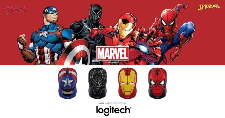 Logitech Luncurkan Jajaran Mouse M238 Marvel Collection di Indonesia
