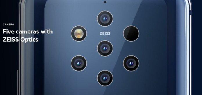 [MWC 2019] Nokia 9 PureView: Smartphone Pertama dengan 5 Kamera Belakang 12 Megapixel 2