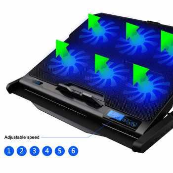 ICE COOREL K6 - Cooling Pad Laptop 6 Kipas