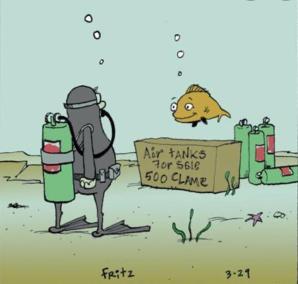 Image drôle de plongeur amateur Lomé
