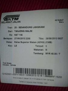 Hatyai, Thailand part 1 Pembelian tiket Keretapi KTMB