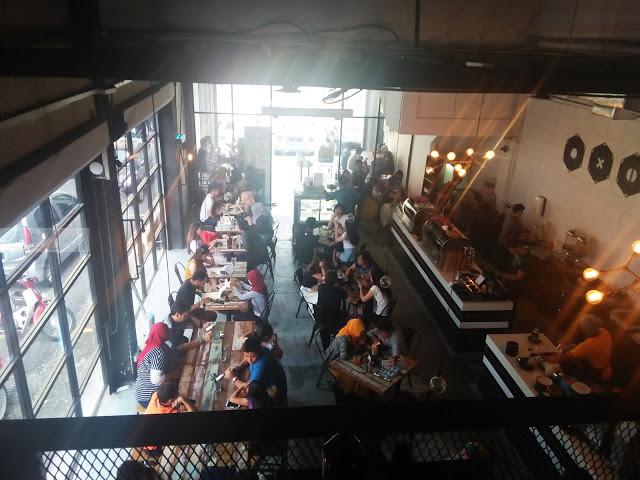 Sunway, cafe hipster, bandar sunway