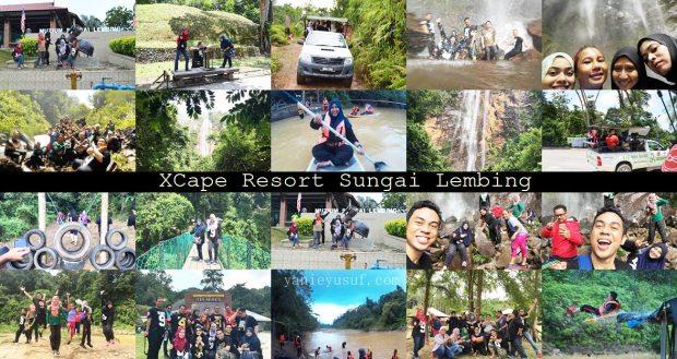 Kembara XCape KBBA9 Ke Sungai Lembing Pahang