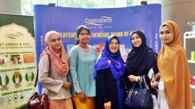 Cosmoderm Penaja Silver Bagi Kuala Lumpur Modest Fashion Week 2016