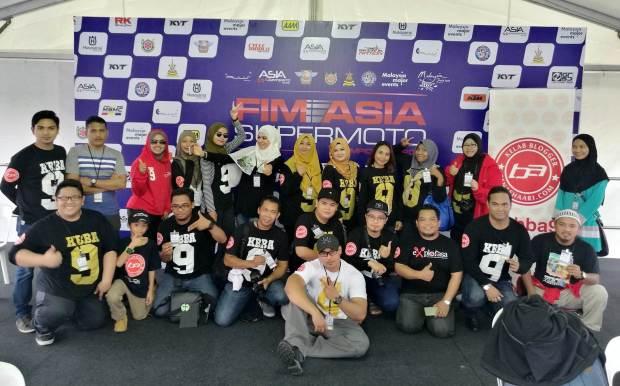 Kelab Blogger Ben Ashaari di FIM Asia Supermoto Championship 2016