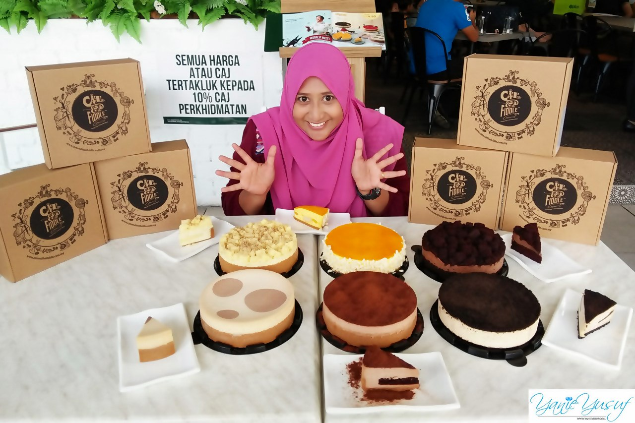 Cheesecake Cat & TheFiddle Marvellous Di Malaysia