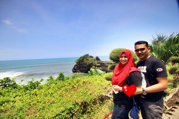 photoshoot di Tanah Lot Bali