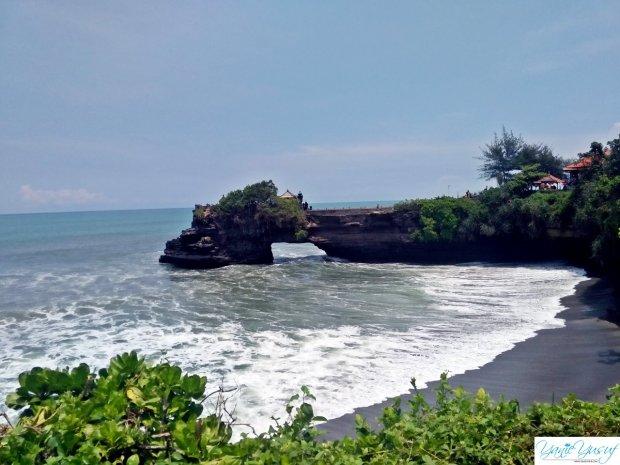 Percutian Di Tanah Lot Bali Indonesia