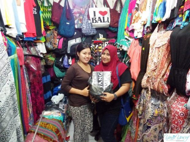 Tawar menawar boleh digunakan di Bali