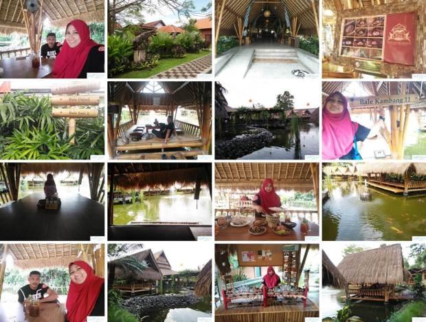 Sekitar di Restoran Bale Udang Mang Engking Kuta Bali Indonesia